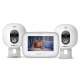 Baby Video Monitor with 2 Camera Units AC310-2