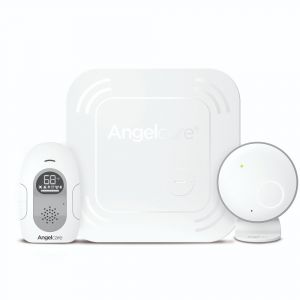 Angelcare AC117 Baby Breathing and Audio Monitor with Wireless Sensor Pad