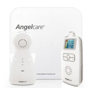 Angelcare AC403 Baby Breathing Movement & Audio Monitor with Wired Sensor Pad