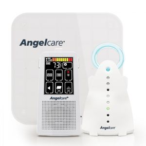 Angelcare AC701 Baby Breathing Movement and Audio Monitor with Touch Screen Display and Wired Sensor Pad