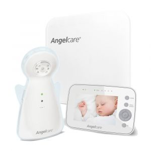 "Angelcare AC1300 Baby Breathing Movement Monitor with 3.5"" Display and Wired Sensor Pad"